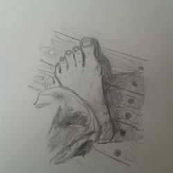 bernhard rusch foot