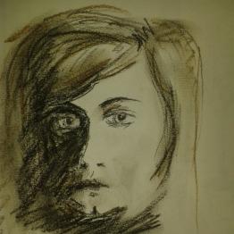 drawing challenge Bernhard Rush portrait