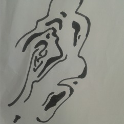 Bernhard Rush drawing challenge one
