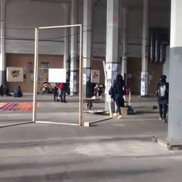 Munich Artists Installation site at Off Festival