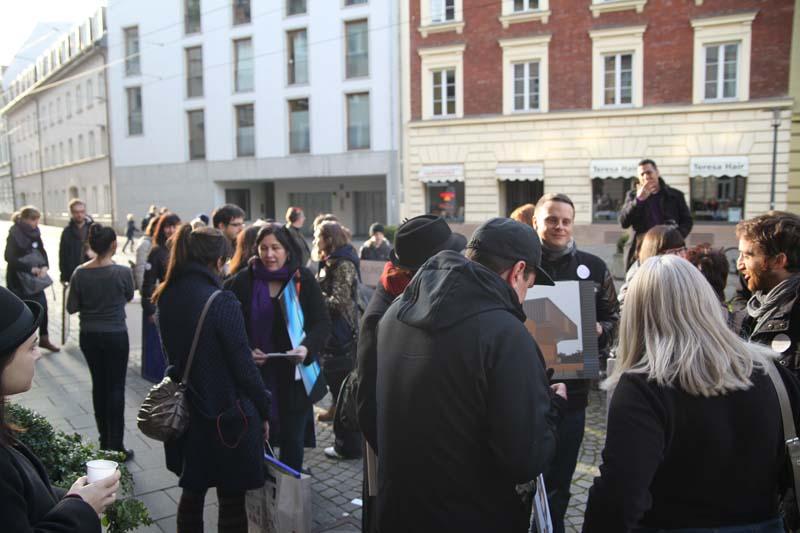 Stand For Your Art - December 2015 - Haidhausen Art Happening
