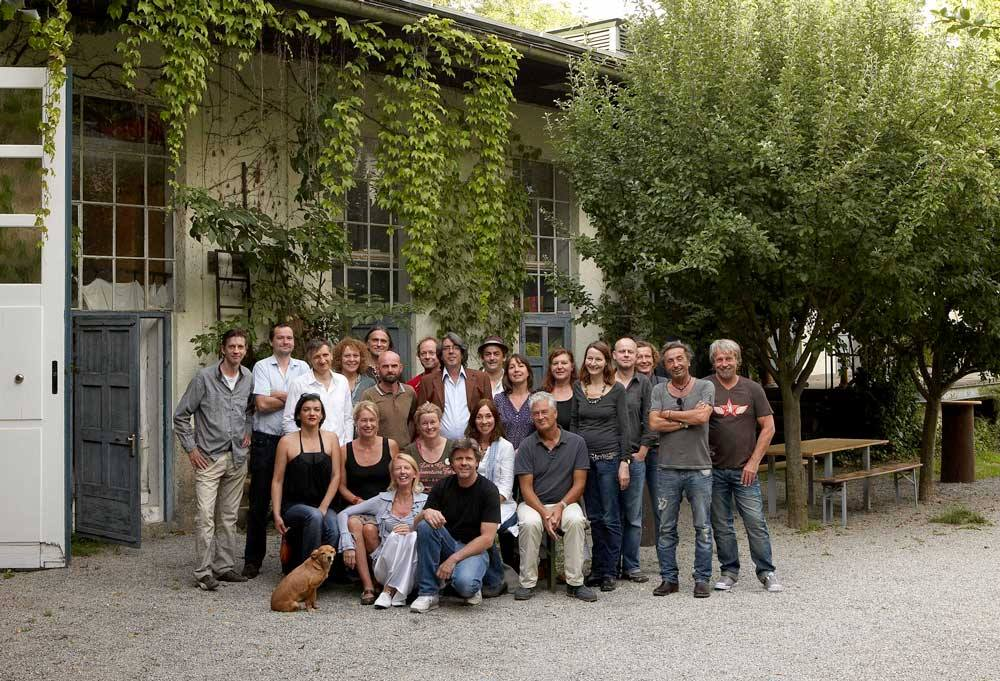 Artists at Wieder Fabrik
