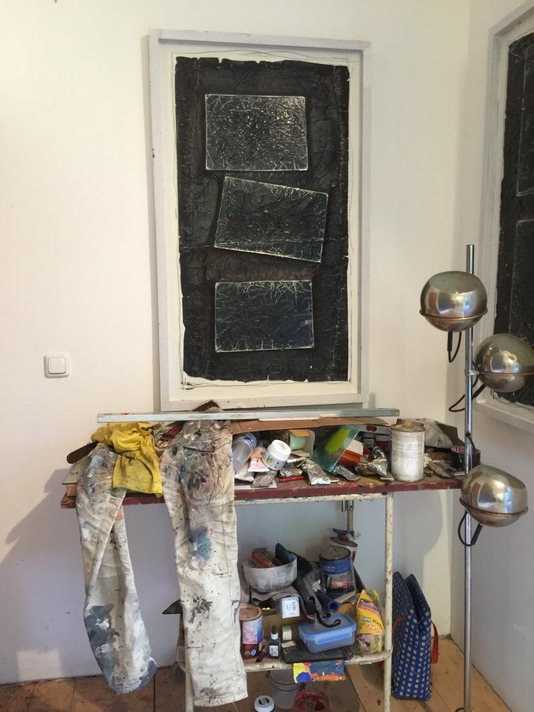 Milan's studio