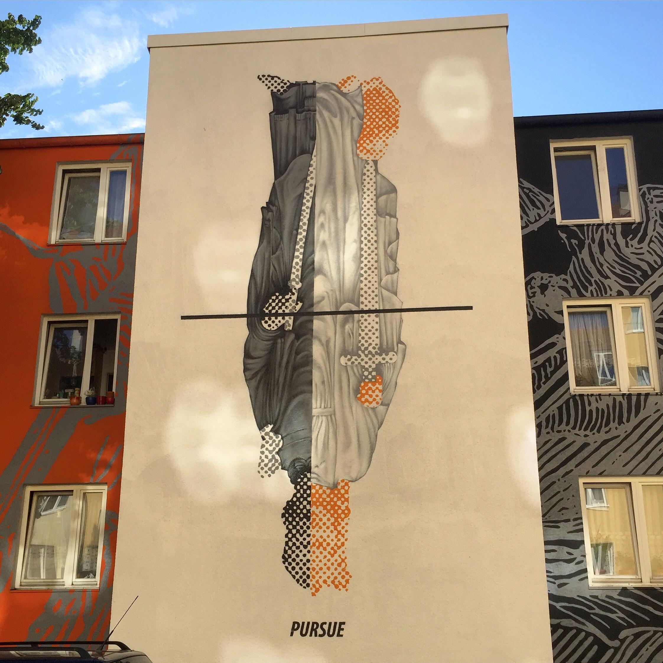 Pursue - Public artwork - Westend - Munich, Germany