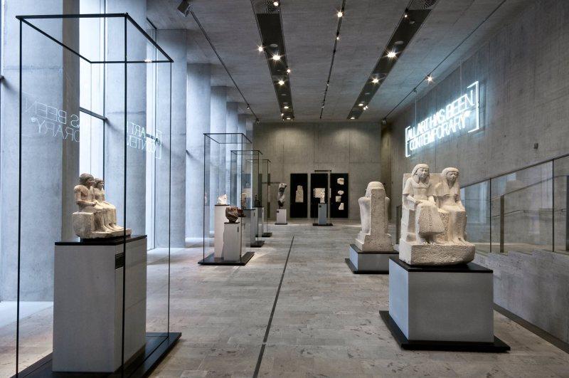 egyptian museum inside shot