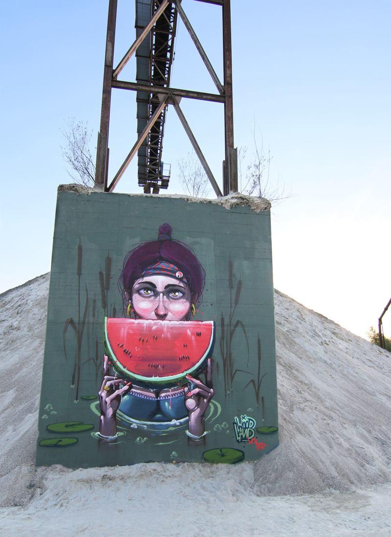 Mr. Woodland Watermelon Dreams