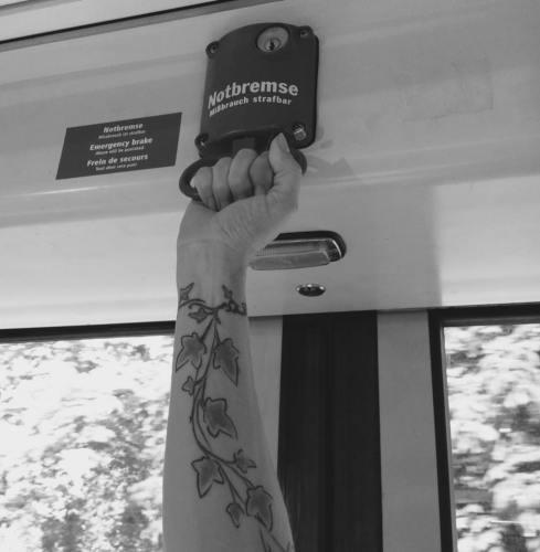 munich artists katrin klug tram
