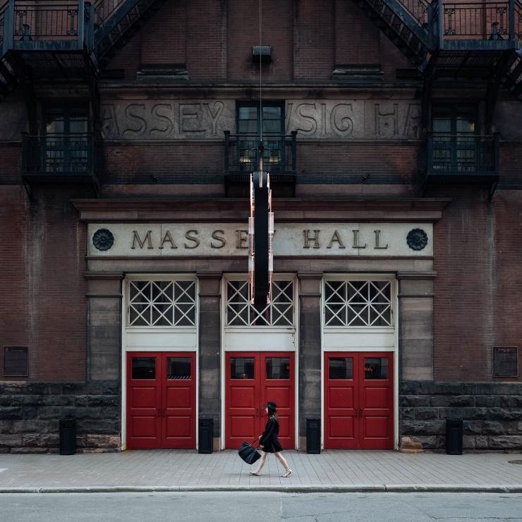 Day 10-masse-hall-three-doors-woman-walking