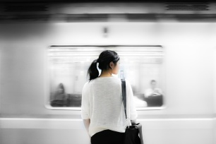 Day 9-subway-shot-asian-woman-