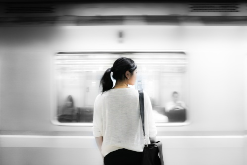 Day 9-subway-shot-asian-woman-
