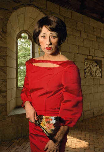cindy sherman red