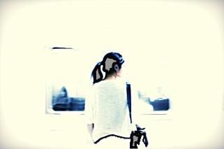 Munich Artists Bobbie Dunn-Komarek - Day 9 - Girl on Subway