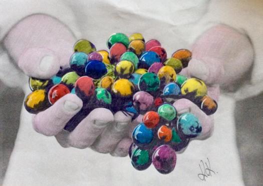 Munich Artists Katrin Klug - Grapes