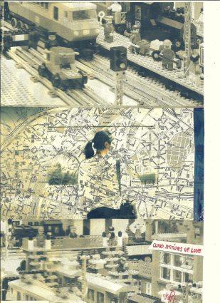 Munich Artists- Brigitte Hoppstock - Day 9 - Girl on Subway