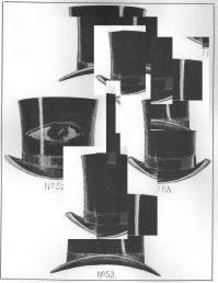 Munich Artists Bernhard Rusch - Day 7 - Hats