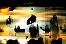 Munich Artists Sam Malviya - Day 9 - Girl on Subway