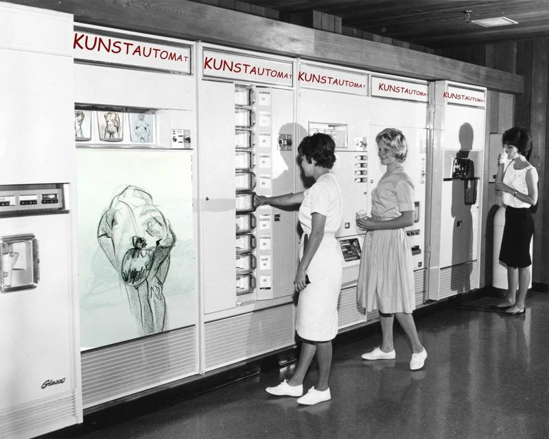 Munich Artists Dean Pasch - vending machine