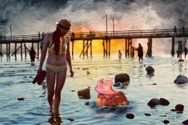 Munich Artists Michael Pitschke - Day 6 - Beach