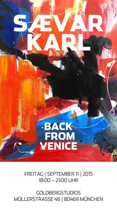 back from venice saevar karl