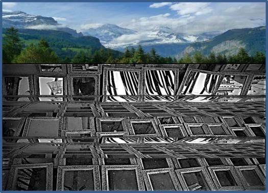 Munich Artists Bernhard Rusch - day 8 Mirrors
