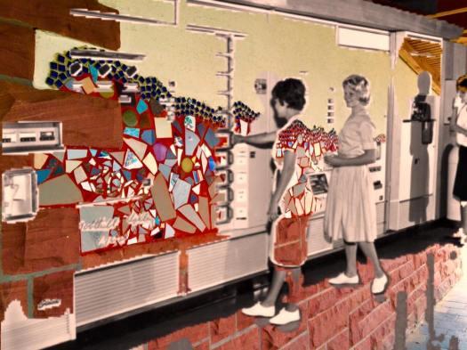 munich artists Bobbie Dunn Komarek - vending machines