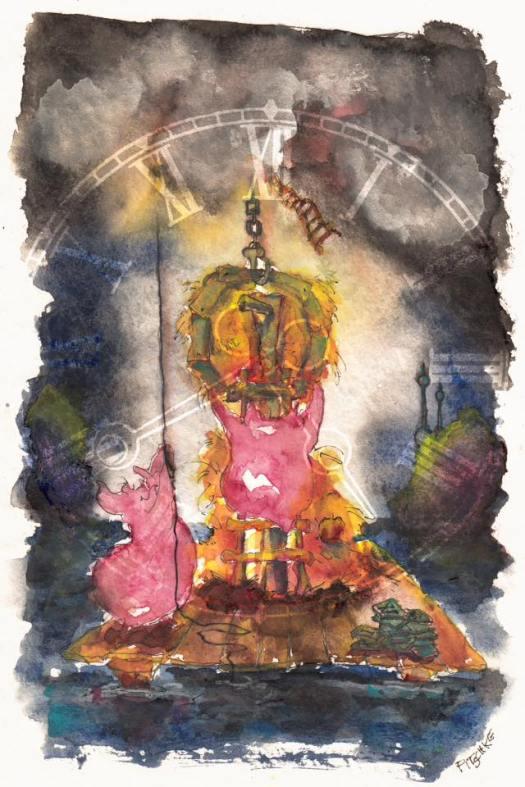 Munich Artists Michael Pitschke - Clock