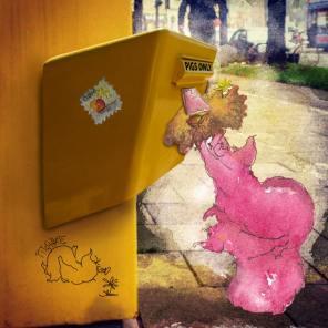 Munich Artists Michael Pitschke - Day 5 - Mailbox