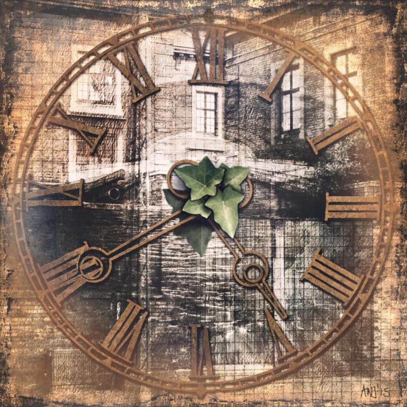 Munich Artists Angela Josupeit - Clock