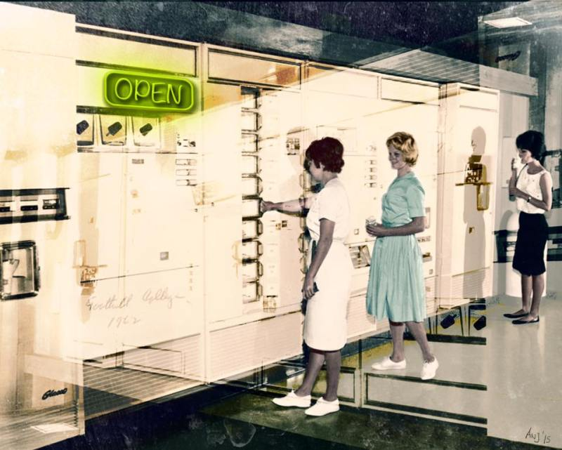 Munich Artists Angela Josupeit - vending machine