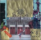 Munich artists Brigitte Hopptsock day 10 - red doors