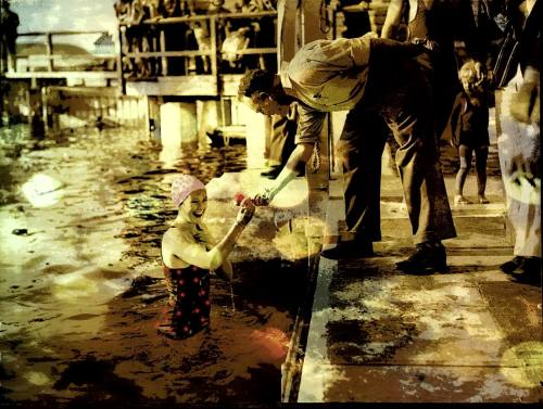 Munich Artists Sam Malviya - girl in water