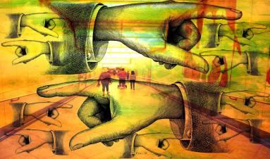 Munich Artists - Sam Malviya - hands