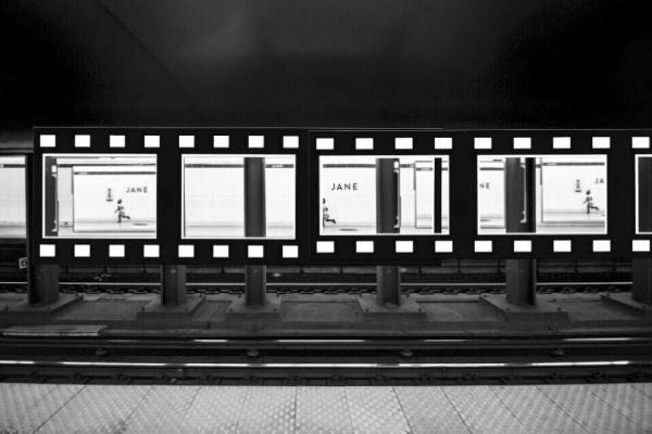 Munich Artists Bobbie Dunn Komarek - subway Jane