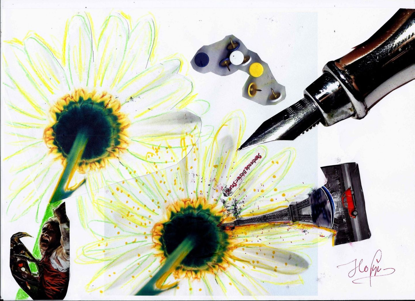 Munich Artists Brigitte Hoppstock - Daisy