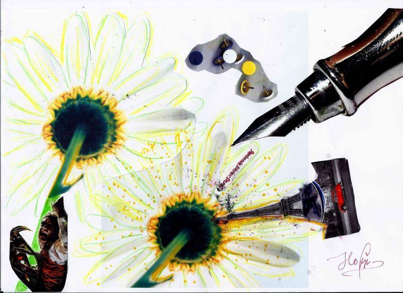 Munich Artists Brigitte Hoppstock - Daisy