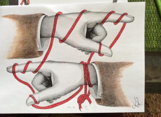Munich Artists Katrin Klug - Hands