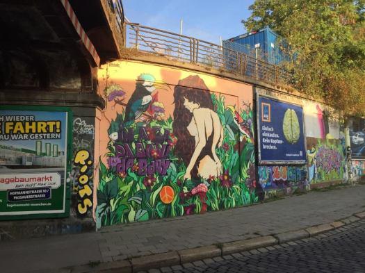 Munich Street Artists - Street Graffiti September 2015 @ Tumblingerstrasse