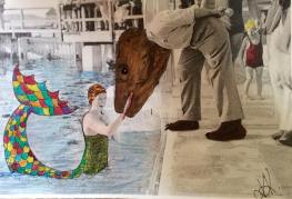 Munich Artists - Katrin Klug - Girl in Water