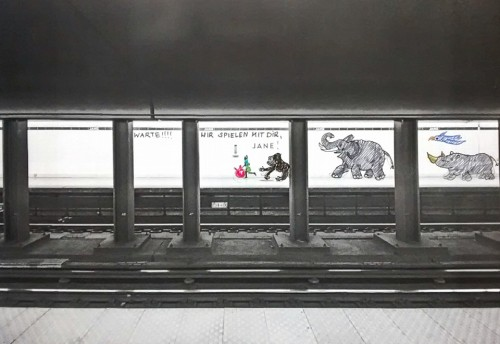 Munich Artists Gabriela Popp - Subway Jane