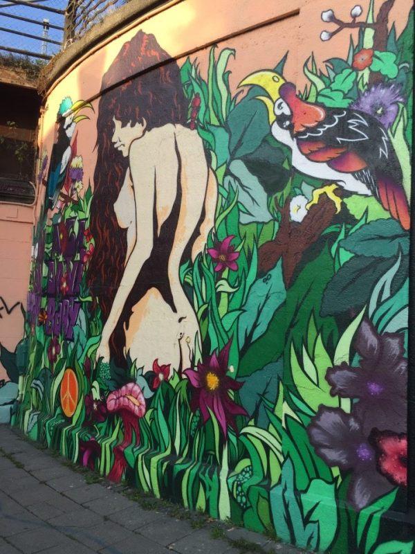 Munich Artists Street Graffiti Tumblingerstrasse