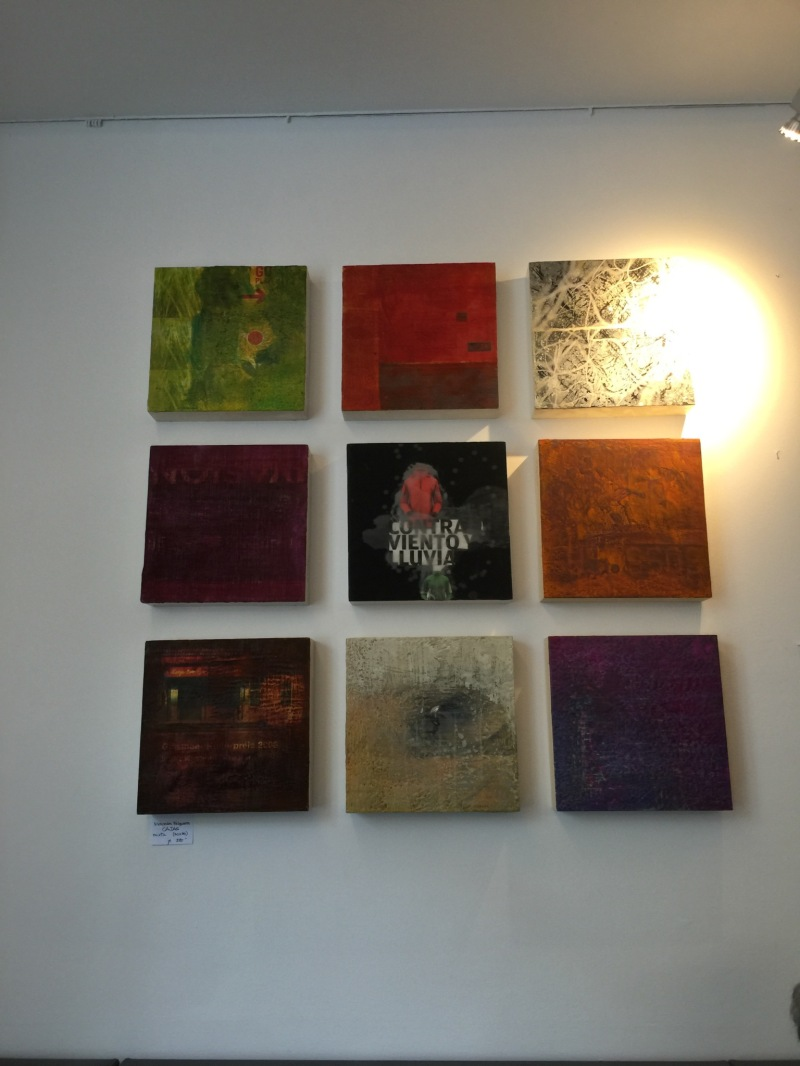 Encaustic artwork by Mercedes felgueres