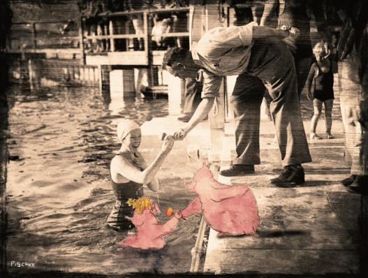 Munich Artists Michael Pitschke - Girl in water