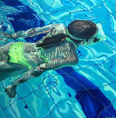 Brigitte Pruchnow Swimmer
