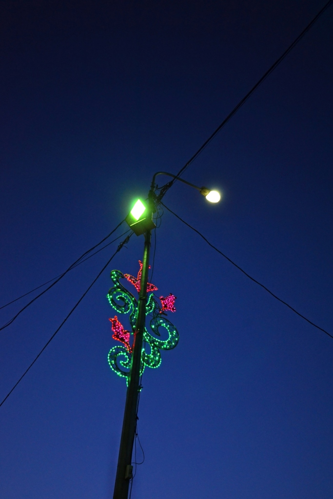 chris tomas -- licht street lamp in shymkent, kazakhstan  digital photopraphy -- 2015 -- 1/10 price on request, depending on size
