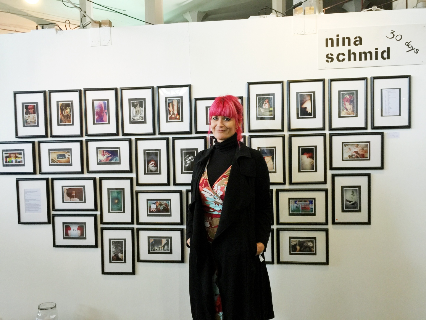 Munich Artists nina schmid at stroke ltd