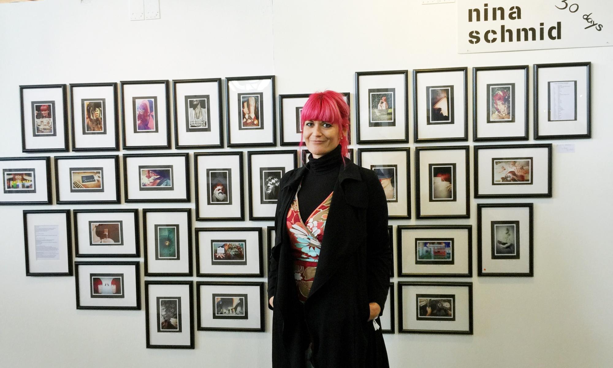 Munich Artists nina schmid at stroke ltd