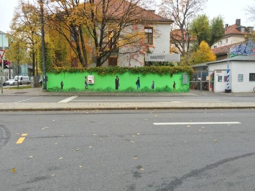 Wall Mural by TONA in Munich