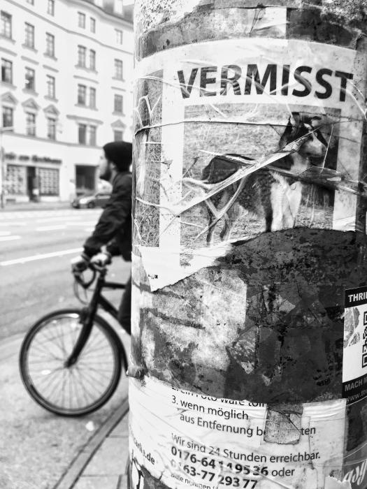 Emmy Horstkamp - Walk though Munich October 30 2015