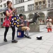 Munich - 2015-emmy-horstkamp-kaufingerstrasse-shopping-district-downtown