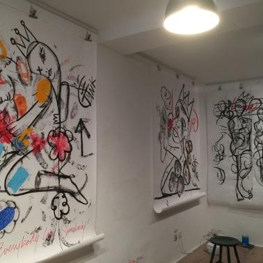 "TMNK ""Nobody"" Crush art pieces 2016"
